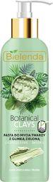 Bielenda Bielenda Botanical Clays Zielona Glinka Pasta do mycia twarzy  190g
