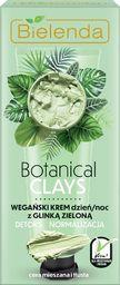 Bielenda Krem do twarzy Botanical Clays Zielona Glinka oczyszczający 50ml