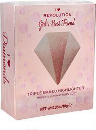 Makeup Revolution IHR Rozśw. Diamond Girls Best Friend NEW