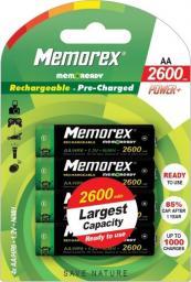 Memorex Akumulator AA / R6 2600mAh 4szt.