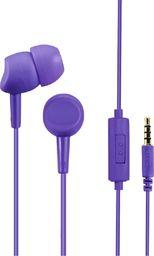 Słuchawki Hama SŁUCHAWKI DOKANAŁOWE BASIC4PHONE FIOLETOWE