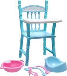 Adar Krzesełko do karmienia dla lalki worek