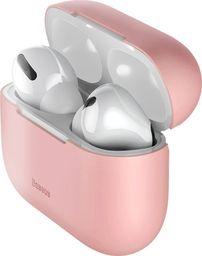 Baseus Silikonowe etui ochronne Baseus Super Thin do Apple AirPods Pro (różowe)