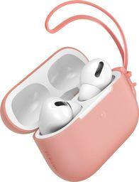 Baseus Silikonowe etui ochronne Baseus Let's Go ze smyczką, do Apple AirPods Pro (pomarańczowe)