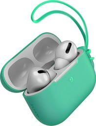 Baseus Silikonowe etui ochronne Baseus Let's Go ze smyczką, do Apple AirPods Pro (zielone)