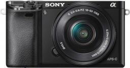 Aparat cyfrowy Sony ILCE-6000LB