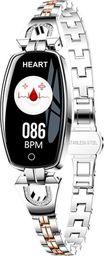 Smartwatch WATCHMARK H8 Srebrny  (H8)
