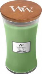 WoodWick Hemp & Ivy świeca zapachowa 609,5 g (1647926E)