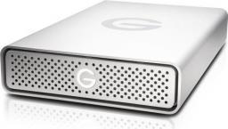 Dysk zewnętrzny G-Technology HDD G-DRIVE 6 TB Srebrny (0G05671-1)