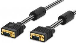 Kabel Ednet D-Sub (VGA) - D-Sub (VGA), 1.8, Czarny (84530)