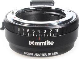 Commlite Adapter bagnetowy Commlite CoMix CM-NF-NEX - Nikon F / Sony E