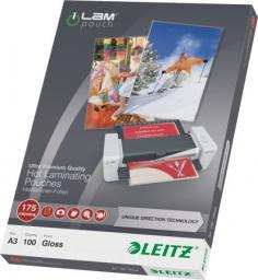 Leitz Folia do laminacji na gorąco iLAM A3, UDT, 100szt.  (10K274D)