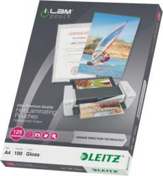 Leitz Folia do laminacji na gorąco iLAM A4, UDT, 100szt. (10K273C)