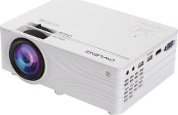 Projektor Owlenz SD100 Lampowy 800 x 480px 2000lm