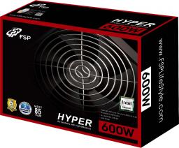 Zasilacz FSP/Fortron HYPER 600W (PPA6003302)