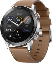 Smartwatch Honor Magic Watch 2 46mm Brązowy  (55024854-001)