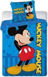 Faro Pościel Licencyjna nr 1502 Myszka Mickey 100x135 2 części