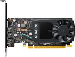 Karta graficzna PNY Technologies Quadro P400 2GB GDDR5 (VCQP400DVIV2-PB)
