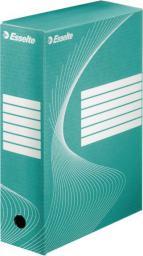 Esselte Pudło, karton archiwizacyjny Boxy szer. 100mm zielony  (10K030D)