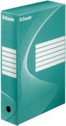 Esselte Pudło, karton archiwizacyjny Boxy szer. 80mm zielony  (10K029D)