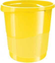 Kosz na śmieci Esselte Vivida 14L żółty (10K135M)