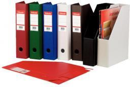 Esselte Pojemnik na dokumenty, czasopisma A4 składany PCV 70mm czarny (10K216A)