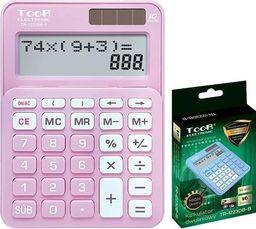 Kalkulator Toor Electronic Kalkulator dwuliniowy 10-pozyc. TR-1223DB-P TOOR