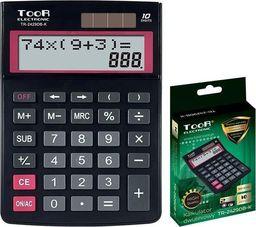 Kalkulator Toor Electronic Kalkulator dwuliniowy 10-pozyc. TR-2429DB-K TOOR