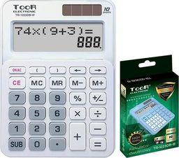 Kalkulator Toor Electronic Kalkulator dwuliniowy 10-pozyc. TR-1223DB-W TOOR