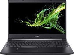 """Laptop Acer Acer Aspire 7 A715-74G-78SM Charcoal Black, 15.6 """", IPS, Full-HD, 1920 x 1080 pixels, Matt, Intel Core i7, i7-9750H, 8 GB, DDR4,"""