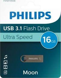Pendrive Philips Philips Pendrive USB 3.1 16 GB - Moon Edition