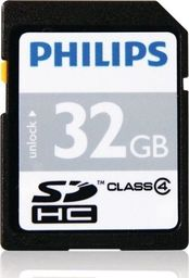 Karta Philips SDHC 32 GB Class 4  (36611-uniw)