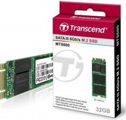 Dysk SSD Transcend MTS600 32 GB M.2 2260 SATA III (TS32GMTS600)