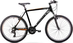 Romet Rower Romet Rambler 26 R6.1 czarno-pomarańczowy S 14  uniwersalny