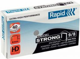 Rapid Zszywki Super Strong 1M, 1000 szt. 9/8 (10K280J)