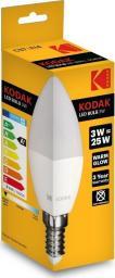 Kodak Żarówka LED C37 E14 200lm Warm White 3W/25W
