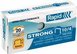 Rapid Zszywki Strong 10/4, 1000 szt. (10K257L)