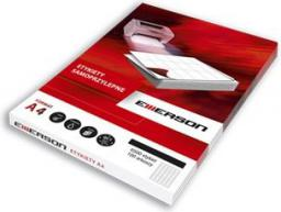 Emerson Etykiety Samoprzylepne Uniwersalne A4 (35K060X)
