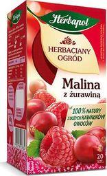 HERBAPOL HERBAPOL Herbata HERBACIANY OGRÓD malina z żurawiną, opakowanie 20 sztuk