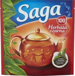Saga SAGA Herbata ekspresowa, opakowanie 100 sztuk