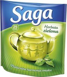 Saga SAGA Herbata zielona, opakowanie 25 sztuk