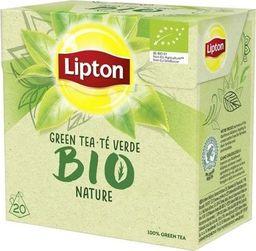 Lipton LIPTON_Bio herbata zielona 20 piramidek