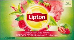 Lipton LIPTON_Green Tea herbata zielona Malina i Truskawka 40 torebek 56g