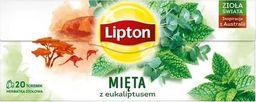 Lipton LIPTON_Herbata ziołowa Mięta z Eukaliptusem 20 torebek 26g