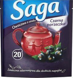Saga SAGA_Herbata owocowa Czarna Porzeczka 20 torebek
