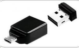 Pendrive Verbatim NANO 16 GB + adapter microUSB (49821)