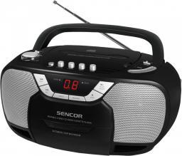 Radioodtwarzacz Sencor SPT 207 Czarno-srebrny