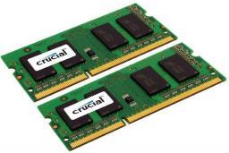 Pamięć do laptopa Crucial DDR3L SODIMM 2x8GB 1600MHz CL11 (CT2KIT102464BF160B)