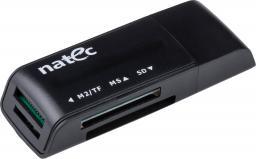 Czytnik Natec CZYTNIK MINI ANT 3 USB 2.0 BLACK (NCZ-0560)