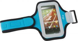 Natec Opaska sportowa na ramię do smartfona  Extreme Media X3 Blue (NET-0593)